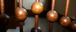 Salamanca, NY B & B Wooden Stair Detail
