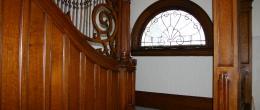 Salamanca, NY B & B Grand Wooden Staircase