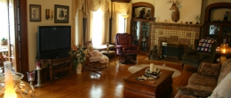 Salamanca, NY Bed & Breakfast Main Living Space