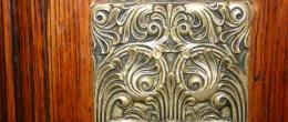 Salamanca, NY B & B Metal Doorknob Plate