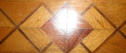 Salamanca, NY B & B Inlaid Wood Flooring Detail